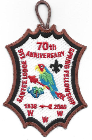 #116 Santee Lodge 2008 Spring Fellowship - Scout Patch HQ