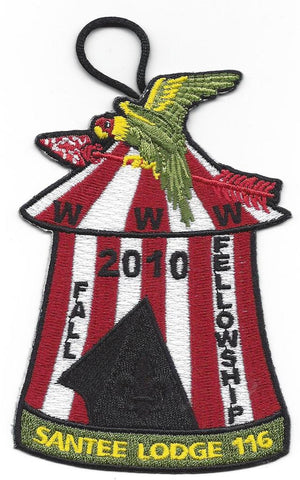 #116 Santee Lodge 2010 Fall Fellowship - Scout Patch HQ