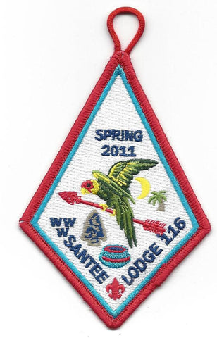#116 Santee Lodge 2011 Spring Fellowship - Scout Patch HQ