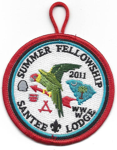 #116 Santee Lodge 2011 Summer Fellowship - Scout Patch HQ