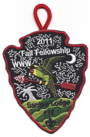 #116 Santee Lodge 2011 Fall Fellowship - Scout Patch HQ