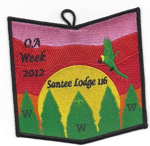 #116 Santee Lodge 2012 OA Week - Scout Patch HQ
