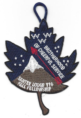 #116 Santee Lodge 2012 Fall Fellowship - Scout Patch HQ