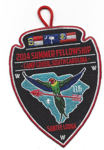 #116 Santee Lodge 2014 Summer Fellowship pp - Scout Patch HQ