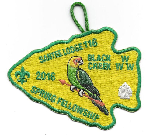 #116 Santee Lodge 2016 Spring Fellowship pp - Scout Patch HQ