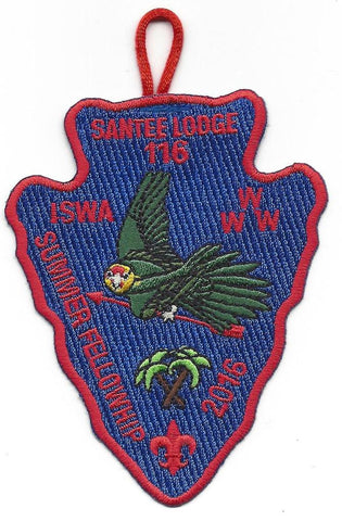 #116 Santee Lodge 2016 Summer Fellowship pp - Scout Patch HQ