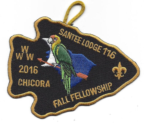 #116 Santee Lodge 2016 Fall Fellowship pp - Scout Patch HQ
