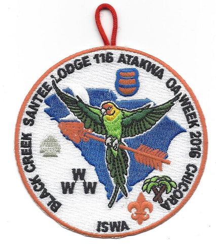 #116 Santee Lodge 2016 OA Week - Scout Patch HQ