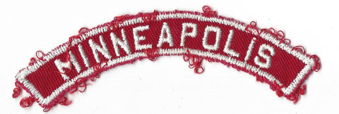 MINNEAPOLIS RWS Red & White Community Strip (SEWN)
