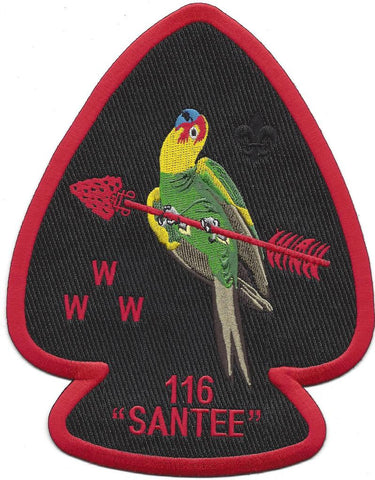 #116 Santee Lodge J6 A1 Jacket Patch 2015 Issue - Scout Patch HQ
