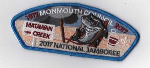 2017 National Scout Jamboree Monmouth  Lounging Shark JSP [FB249]