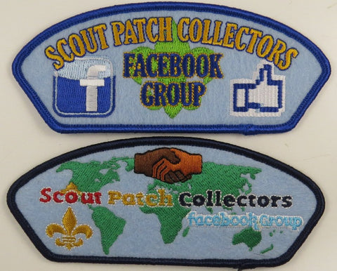 Scout Patch Collectors Facebook Group Shoulder Patches