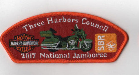 2017 National Scout Jamboree Three Harbors  Harley Davidson GRN [FB211]