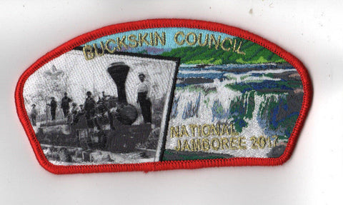 2017 National Scout Jamboree Buckskin Council JSP Train Red [C3147] - Scout Patch HQ