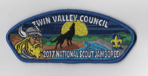 2017 National Scout Jamboree Twin Valley  Wolf JSP [FB213]