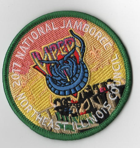 2017 National Scout Jamboree Northeast Illinois  Viper [FB238]