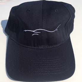 Silhouette Logo Hat - Navy