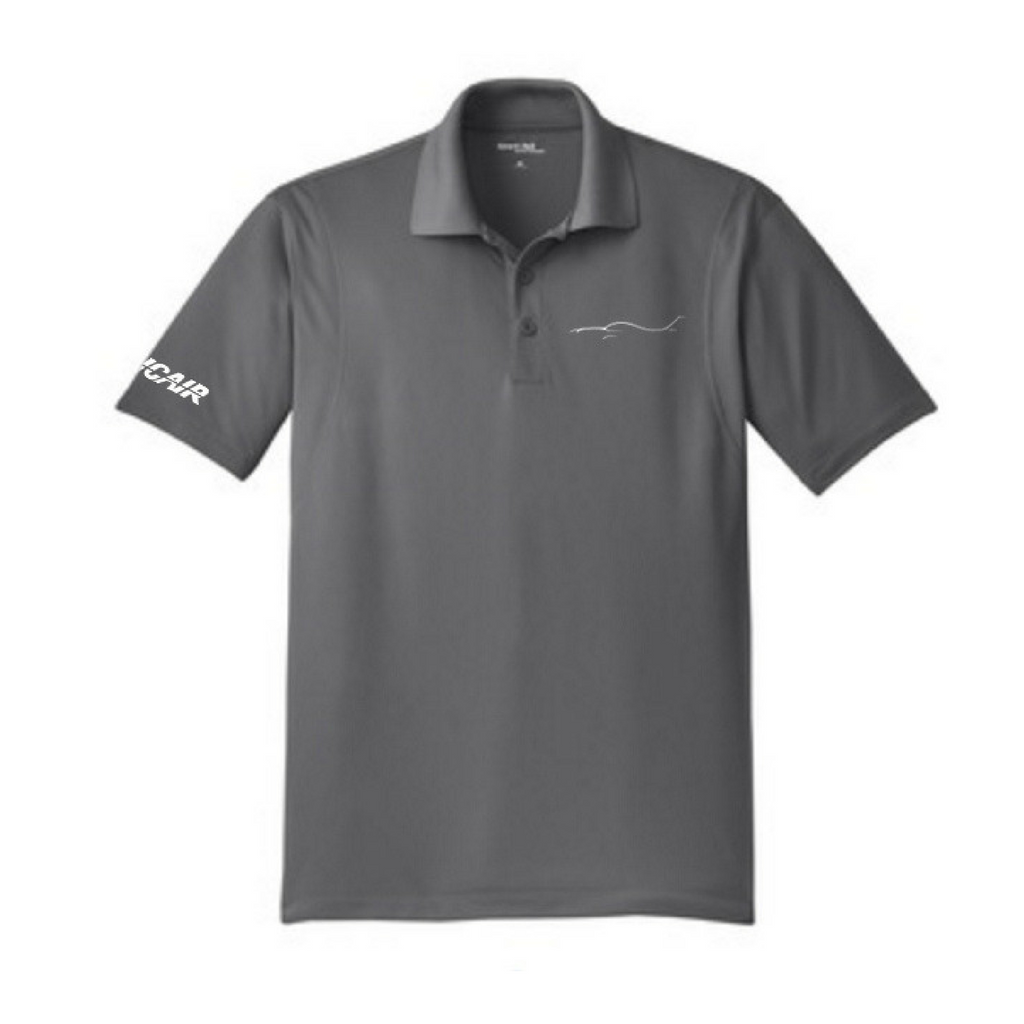 Silhouette Micropique Polo - Iron Grey