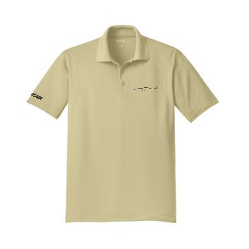 Silhouette Micropique Men's Polo - Tan