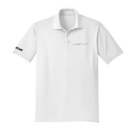 Silhouette Micropique Men's Polo - White