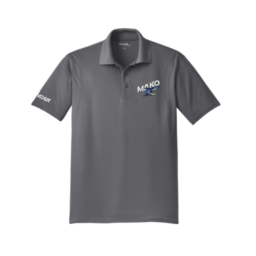 MAKO Micropique Men's Polo - Iron Grey