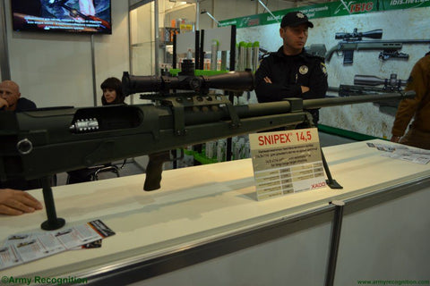 Ukrainian Xados Adds 14.mm Entry to Precision Rifle Line