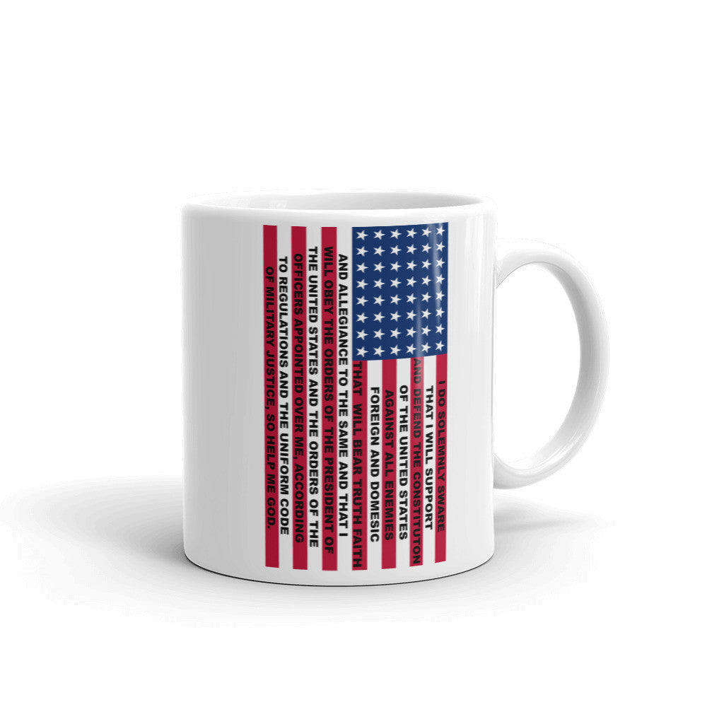 VETERAN OATH - USA MADE COFFEE CUP