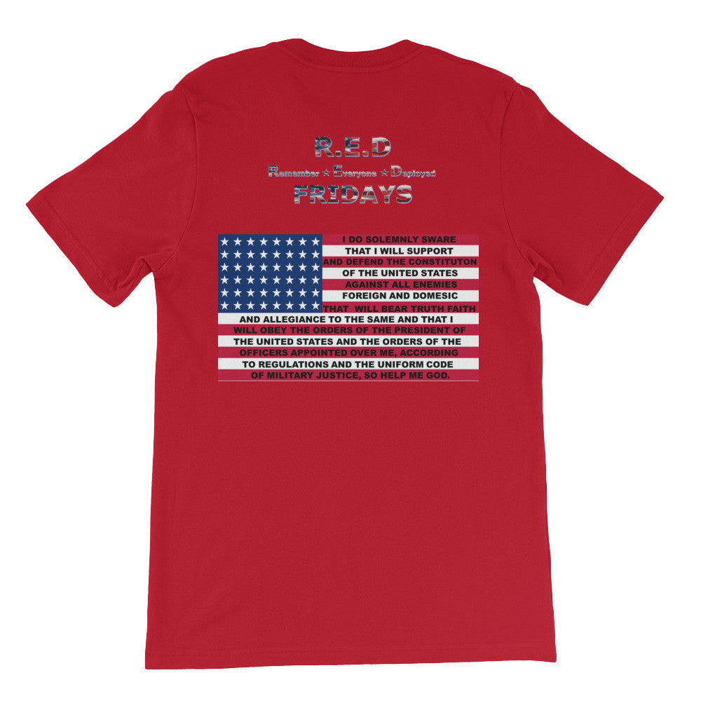 R.E.D. FRIDAYS VETERANS USA MADE SHIRT - Veteran Owned Renegade Ammunition & Outfitters