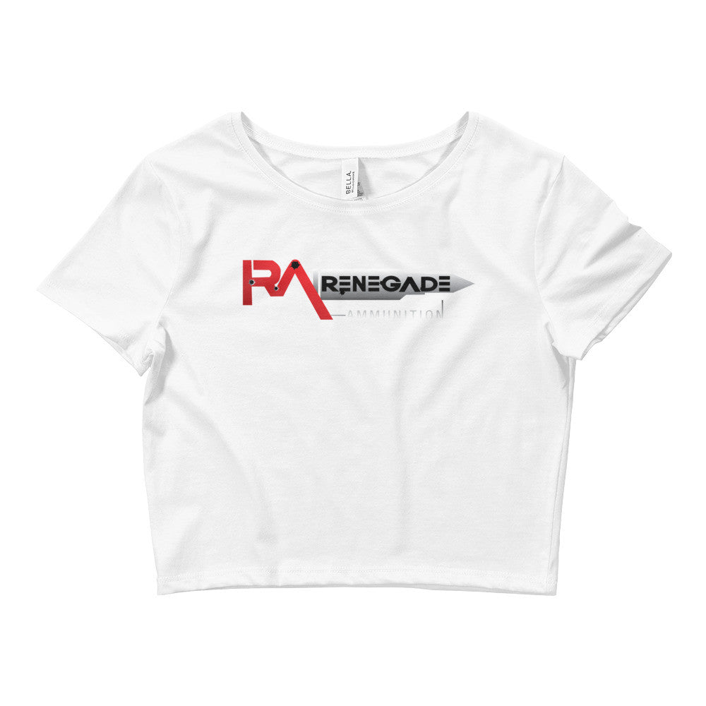 Women's Crop Tee - Veteran Owned Renegade Ammunition & Outfitters