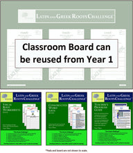 Classroom Board Kit - Year 3   (Grades 2 - 8+)