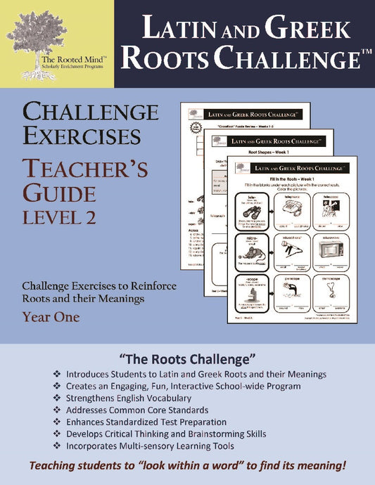 Challenge Exercises Teacher's Answer Key: Year 1 - Level 2   (Grades 2 - 4)