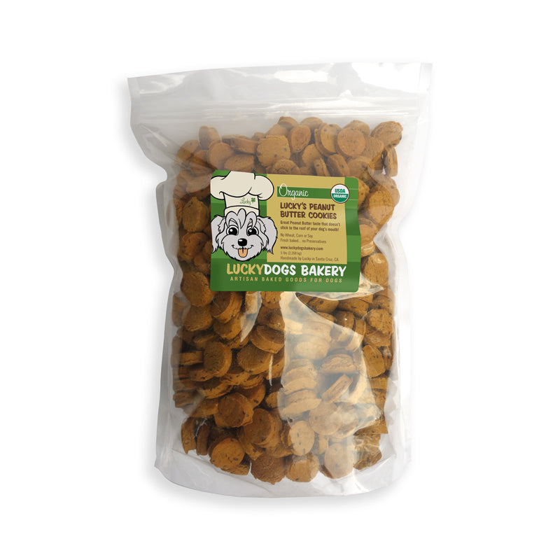 Lucky's Peanut Butter Cookies<br>5lb Bag