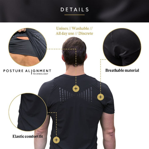 Swedish Posture Remind Tee - Men's