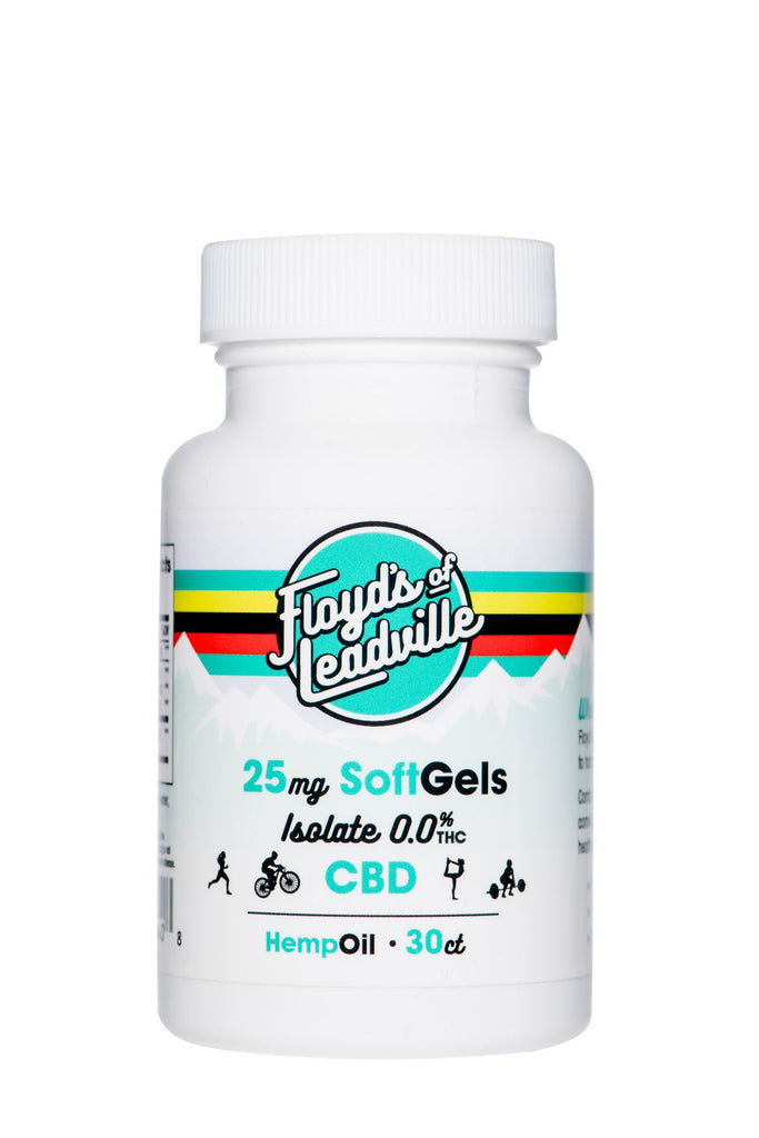 Floyds of Leadville Soft Gel - Isolate - 30 ct, 25 MG