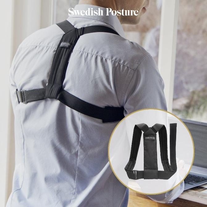 Swedish Posture Flexi Remind Support - White