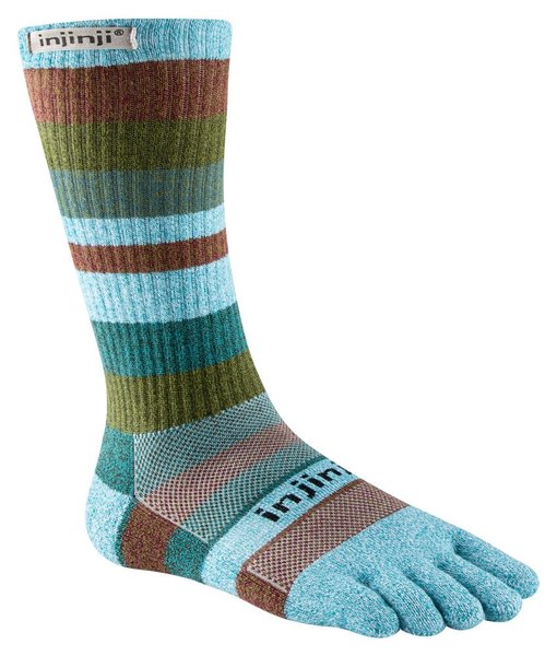 Injinji Trail Mid Weight Crew Socks