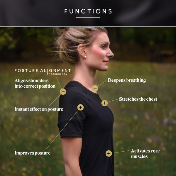 Swedish Posture Remind Tee - Women's