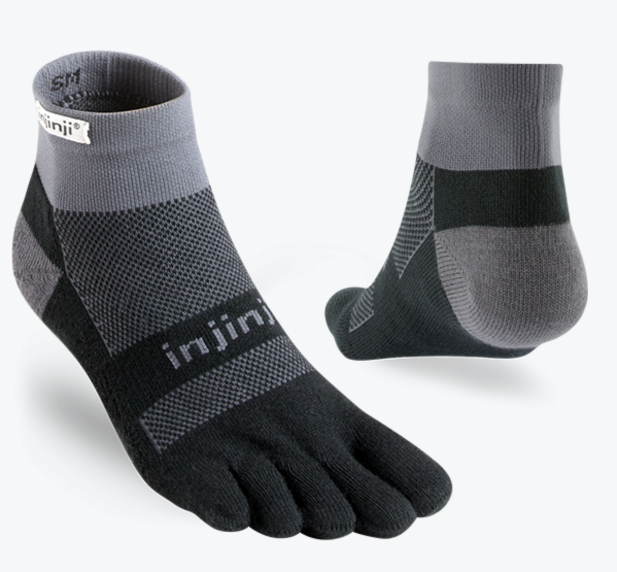 Injinji RUN Mid Weight Mini-Crew Sock