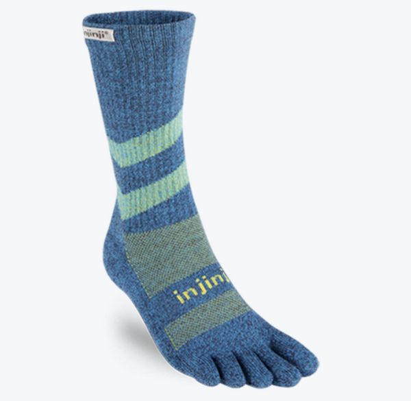 Injinji Outdoor Mid Weight Crew Sock