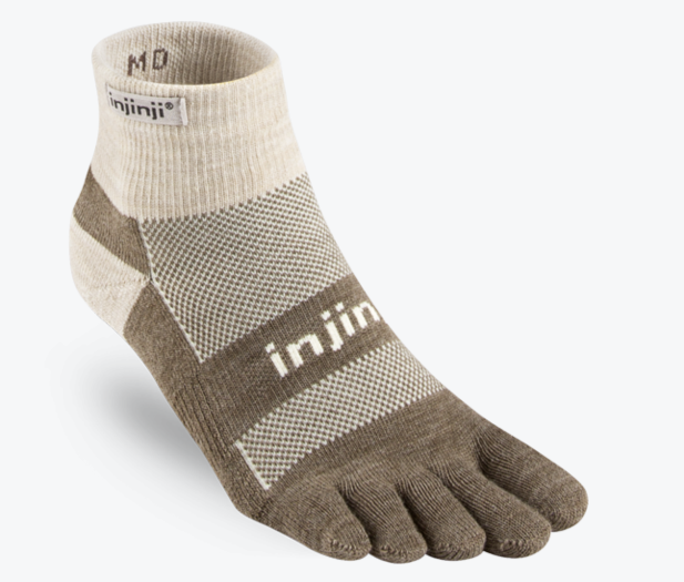 Injinji Outdoor Mid Weight Mini-Crew Sock