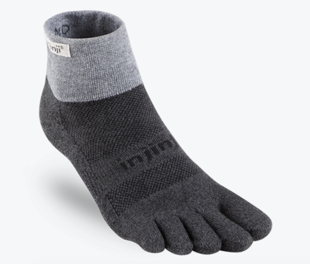 Injinji Trail Mid Weight Mini Crew Socks