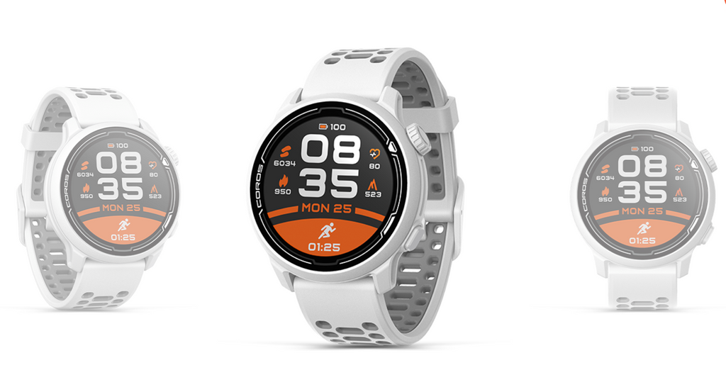 Coros Pace 2 GPS Watch with HR - White