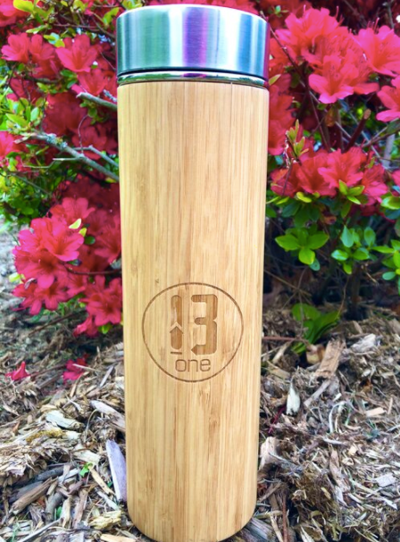 13 One Bamboo Water Bottle w/ Infusion