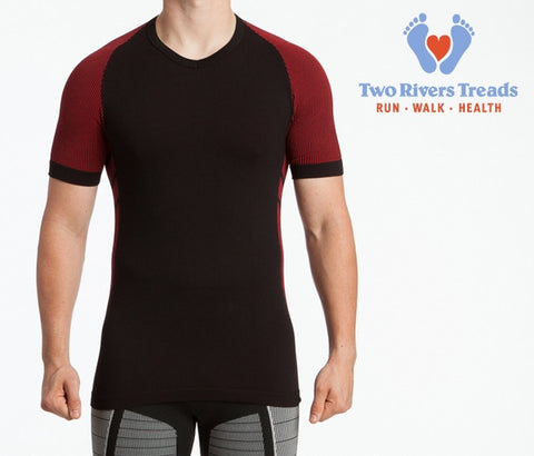 XOSkin 2.0 Form Fit Short Sleeve V-Neck