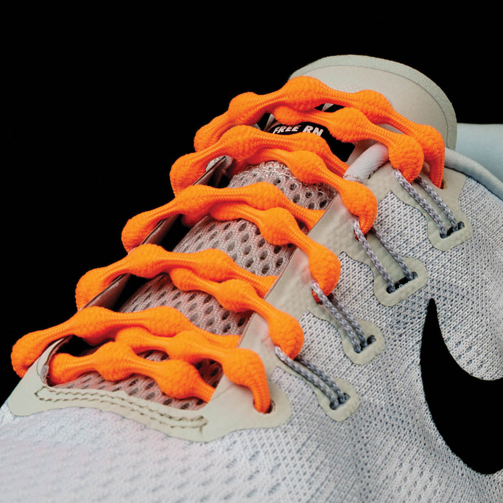 Caterpy Laces - Citrus Orange
