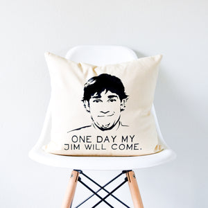 the office jim halpert pillow