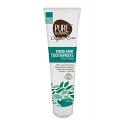 Pure Beginnings Fresh Mint Toothpaste