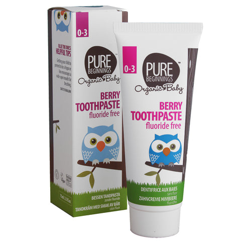 Pure Beginnings Baby - Berry Toothpaste