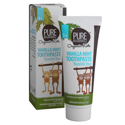Pure Beginnings Kids - Vanilla Mint Toothpaste