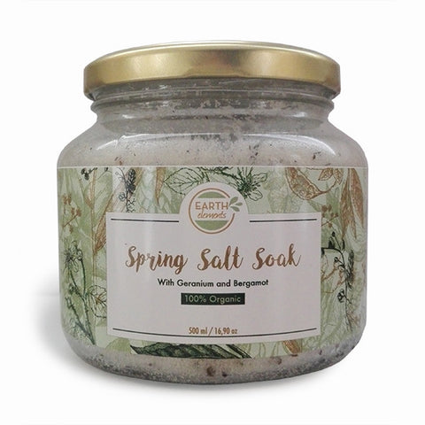 Earth Elements Spring Salt Soak - 500ml